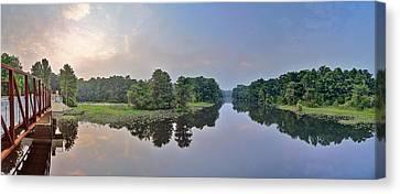 Dunnellon Canvas Print - Peaceful River  by Wioletta Pietrzak