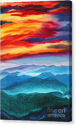 Peaceful Valley's Canvas Print