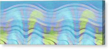 Peaceful Waves Canvas Print by Ben and Raisa Gertsberg