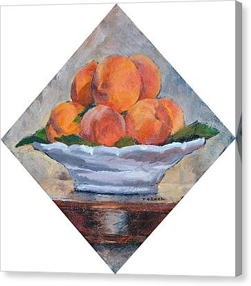 Peaches Canvas Print by Roger Clark