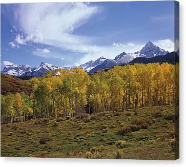 Peaks - In - View Canvas Print
