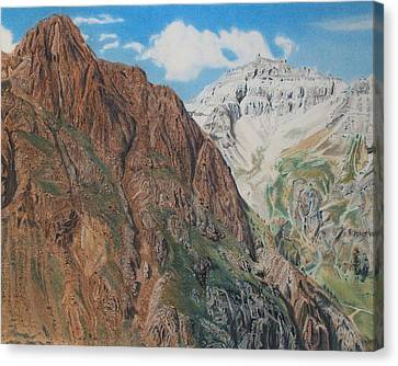 Peaks Of Ouray Canvas Print