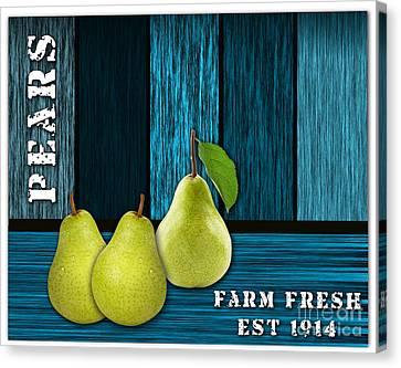 Pear Farm Canvas Print by Marvin Blaine