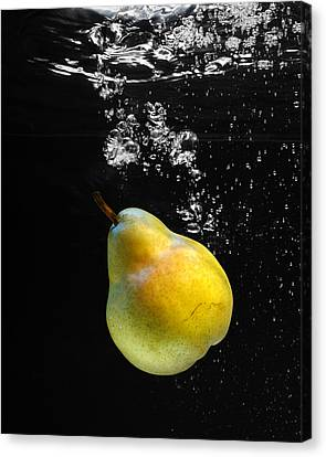 Canvas Print featuring the photograph Pear by Krasimir Tolev