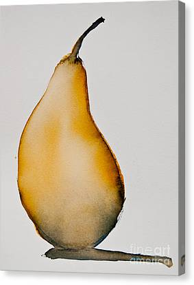 Pear Study Canvas Print by Jani Freimann
