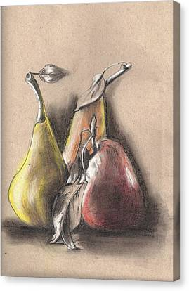 Pear2 Canvas Print