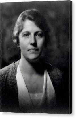 Pearl Buck 1892-1973 Canvas Print by Arnold Genthe