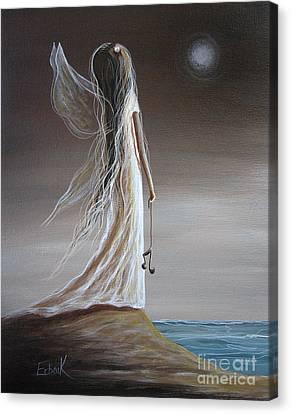 Fairies Canvas Print - Pearl Fairy Art Print by Shawna Erback