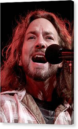 Pearl Jam Canvas Print by Concert Photos