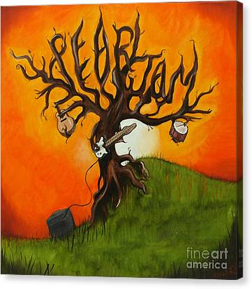 Pearl Jam Canvas Print - Pearl Jam Tree by Tarah Davis