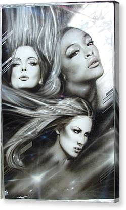 Women - ' Pearl Passions ' Canvas Print