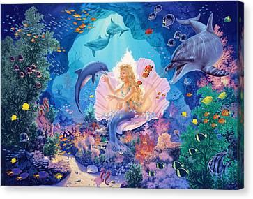 Pearl Princess Variant1 Canvas Print by Steve Read