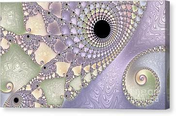 Pearlized  Canvas Print by Heidi Smith
