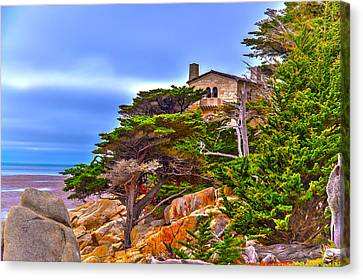 Pebble Beach Ca Canvas Print