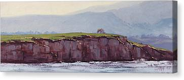 Pebble Beach California Canvas Print by Graham Gercken
