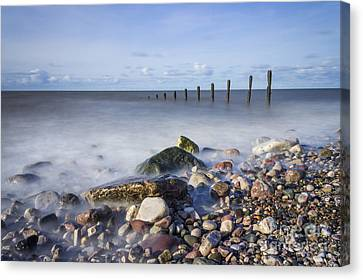Pebble Beach Canvas Print by Ian Mitchell