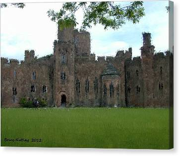 Peckforton Castle Canvas Print