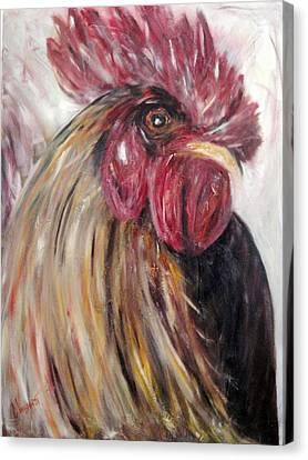 Pecking Order Canvas Print