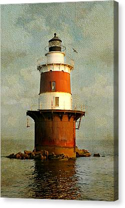 Peck's Ledge  Canvas Print by Diana Angstadt
