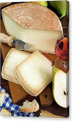 Pecorino Cheese, Tuscany, Italy Canvas Print by Nico Tondini