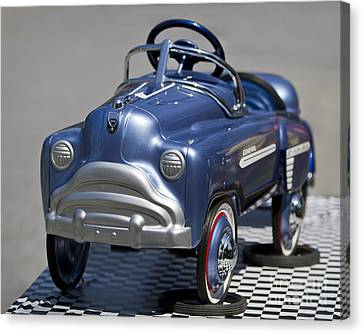 Pedal Car Canvas Print by Dennis Hedberg