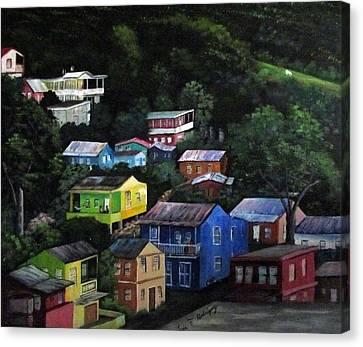 Pedazito De Yauco Cerro Canvas Print