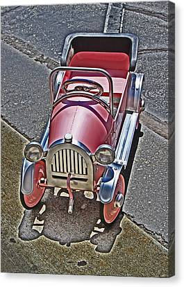 Peddle To A Tee Canvas Print by Chet King