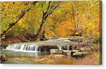 Pedelo Falls Canvas Print by Deena Stoddard