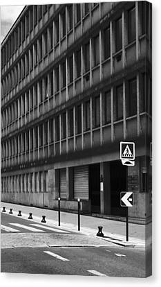 Pedestrian Crossing Canvas Print