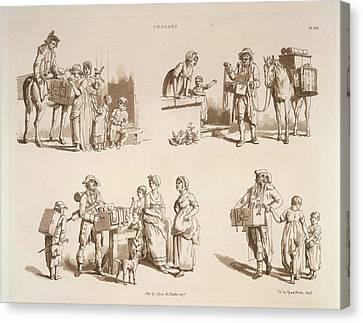 Pedlars Canvas Print by British Library