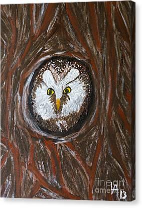 Peek A Boo Canvas Print by Lloyd Alexander