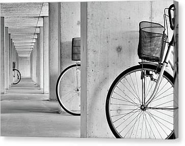 Corridor Canvas Print - Peep by Keisuke Ikeda @