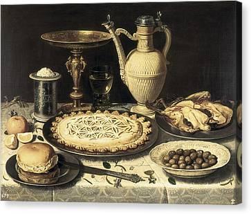 Peeters, Clara 1589-1676. Table. Ca Canvas Print by Everett