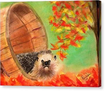 Peevish Porcupine Canvas Print