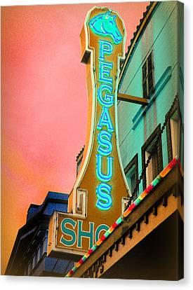 Pegasus 2011 Canvas Print by Gail Lawnicki