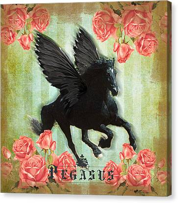 Engagement Canvas Print - Pegasus by Graphicsite Luzern