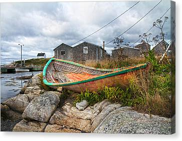 Peggy's Cove 13 Canvas Print by Betsy Knapp