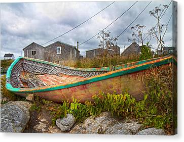 Peggy's Cove 14 Canvas Print by Betsy Knapp