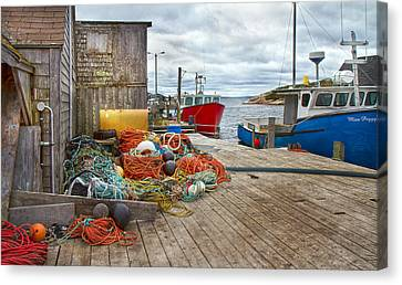 Peggy's Cove 17 Canvas Print by Betsy Knapp