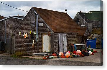 Peggy's Cove 23 Canvas Print by Betsy Knapp