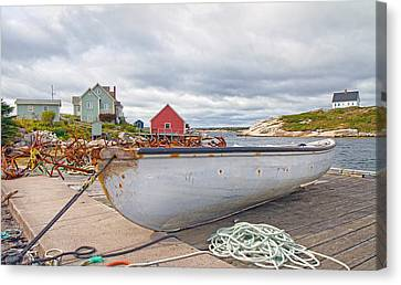 Peggy's Cove 3 Canvas Print by Betsy Knapp