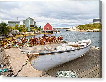 Peggy's Cove 4 Canvas Print by Betsy Knapp