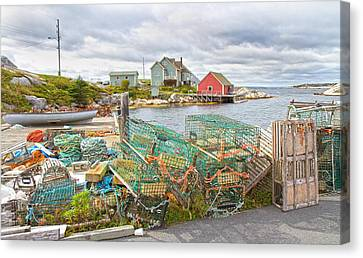Peggy's Cove 5 Canvas Print by Betsy Knapp