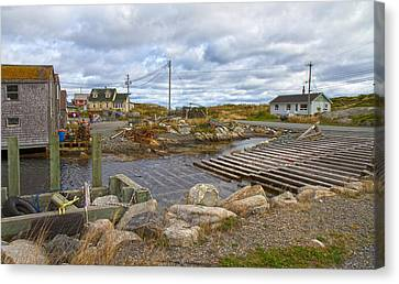 Bouys Canvas Print - Peggy's Cove 8 by Betsy Knapp