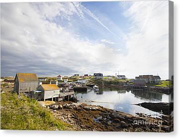 Peggys Cove Nova Scotia Canvas Print