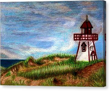Pei Lighthouse Canvas Print