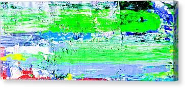 Pei Shen Qian Is Faking Jackson Pollock Canvas Print