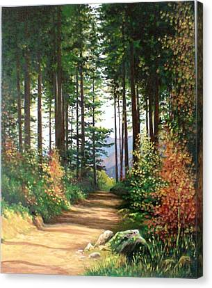 Peisaj Canvas Print by Ioan-aurel Patru