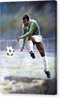 Pele Canvas Print - Pele by Gregory Perillo