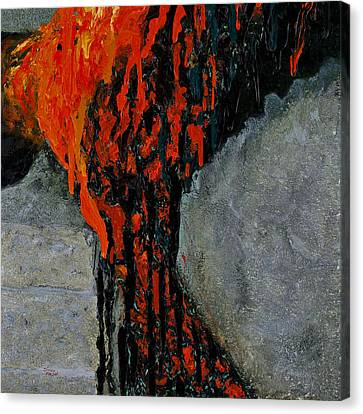 Pele's Passion Canvas Print by Darice Machel McGuire